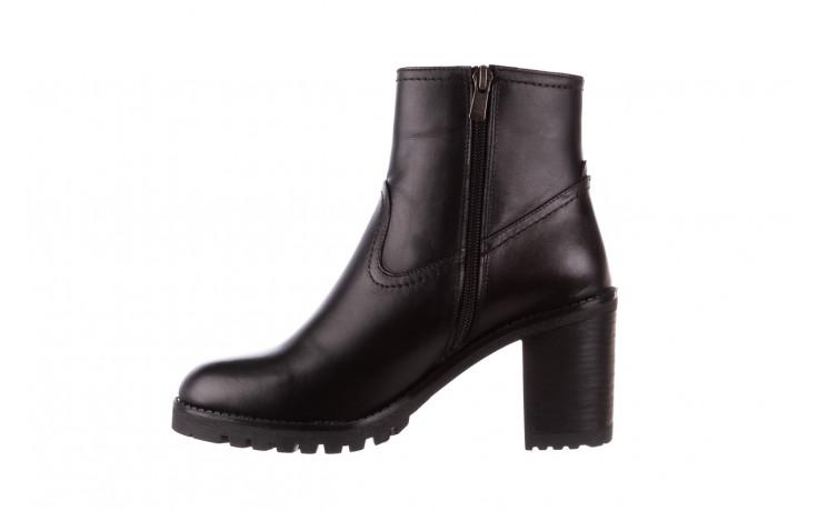 Botki bayla-196 969608 siy soft 196033, czarny, skóra naturalna  - skórzane - botki - buty damskie - kobieta 3