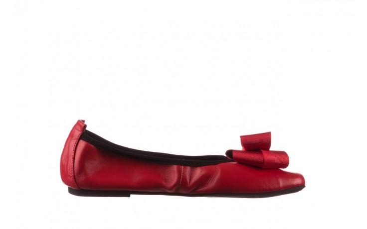Baleriny viscala 11870.32 czerwony, skóra naturalna - skórzane - baleriny - buty damskie - kobieta