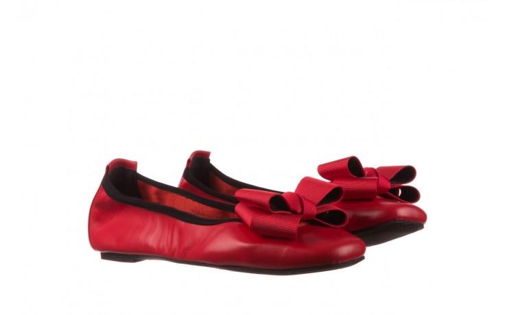 Baleriny viscala 11870.32 czerwony, skóra naturalna - skórzane - baleriny - buty damskie - kobieta 1