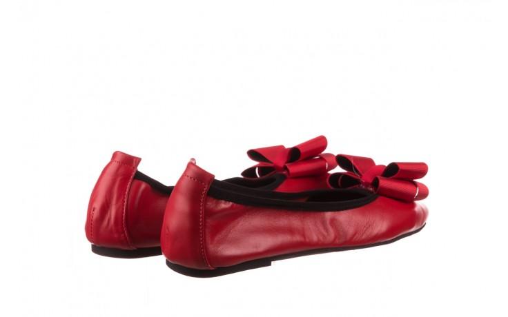 Baleriny viscala 11870.32 czerwony, skóra naturalna - skórzane - baleriny - buty damskie - kobieta 3