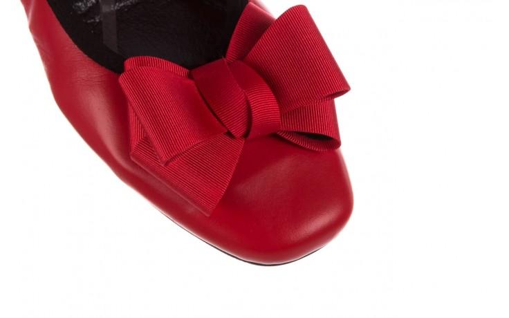 Baleriny viscala 11870.32 czerwony, skóra naturalna - skórzane - baleriny - buty damskie - kobieta 5