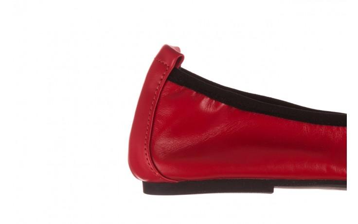 Baleriny viscala 11870.32 czerwony, skóra naturalna - skórzane - baleriny - buty damskie - kobieta 9