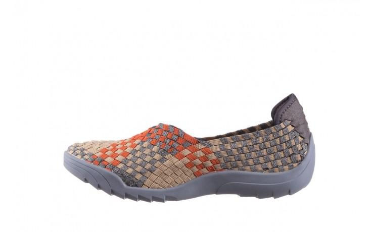 Półbuty rock inoko orange apricot pewter, beż, materiał  - półbuty - buty damskie - kobieta 2
