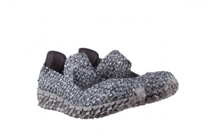 Półbuty rock koala black grey s smoke, biały/ szary, materiał  - kobieta 1