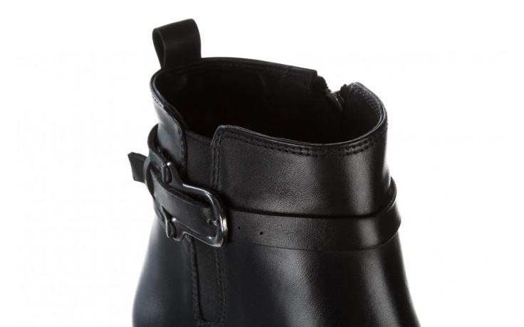 Botki bayla 161 077 48461 black 161184, czarny, skóra naturalna  - skórzane - botki - buty damskie - kobieta 10