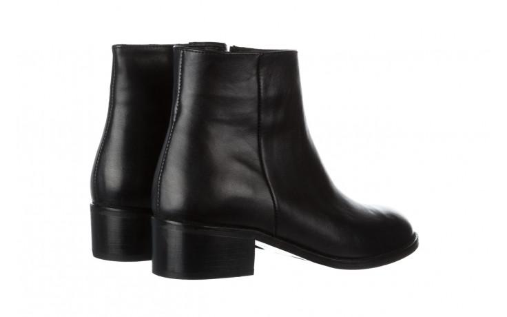Botki bayla 161 077 47464 black 161183, czarny, skóra naturalna  - botki - buty damskie - kobieta 4