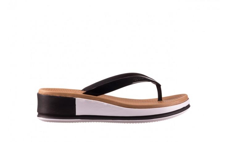 Klapki azaleia 281 517 black, czarny, guma - japonki - klapki - buty damskie - kobieta