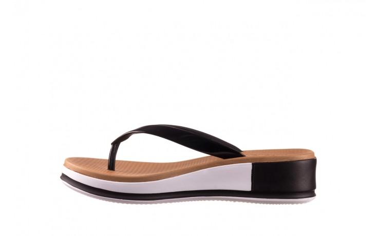 Klapki azaleia 281 517 black, czarny, guma - japonki - klapki - buty damskie - kobieta 2