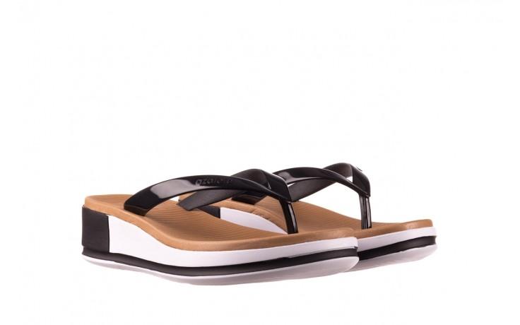 Klapki azaleia 281 517 black, czarny, guma - japonki - klapki - buty damskie - kobieta 1