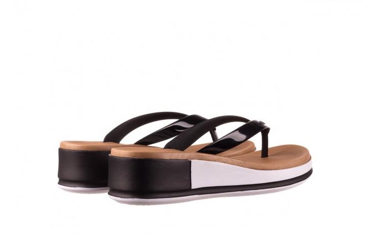 Klapki azaleia 281 517 black, czarny, guma - japonki - klapki - buty damskie - kobieta 3
