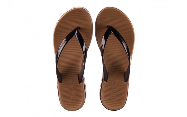 Klapki azaleia 281 517 black, czarny, guma - japonki - klapki - buty damskie - kobieta 4