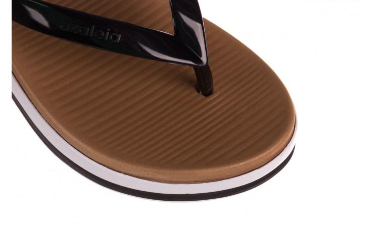Klapki azaleia 281 517 black, czarny, guma - japonki - klapki - buty damskie - kobieta 5