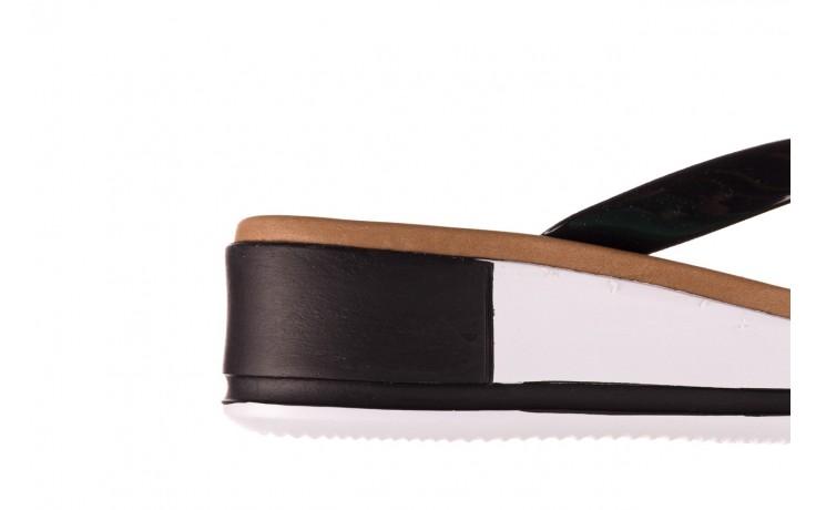 Klapki azaleia 281 517 black, czarny, guma - japonki - klapki - buty damskie - kobieta 6