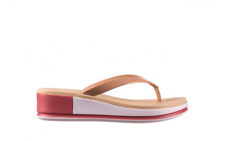 Klapki azaleia 281 517 nude multi, beż, guma - japonki - klapki - buty damskie - kobieta