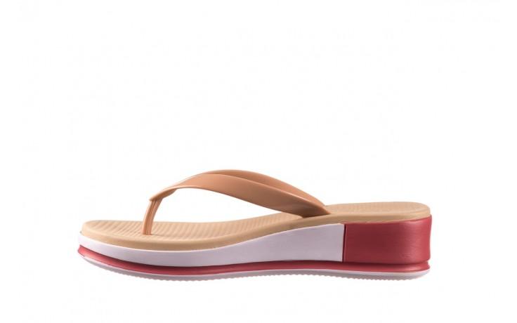 Klapki azaleia 281 517 nude multi, beż, guma - japonki - klapki - buty damskie - kobieta 2