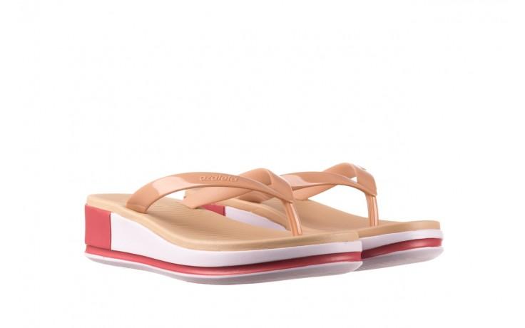 Klapki azaleia 281 517 nude multi, beż, guma - japonki - klapki - buty damskie - kobieta 1