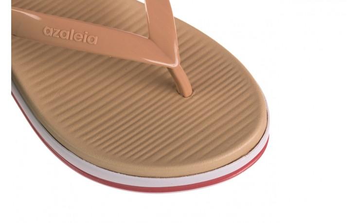 Klapki azaleia 281 517 nude multi, beż, guma - japonki - klapki - buty damskie - kobieta 5