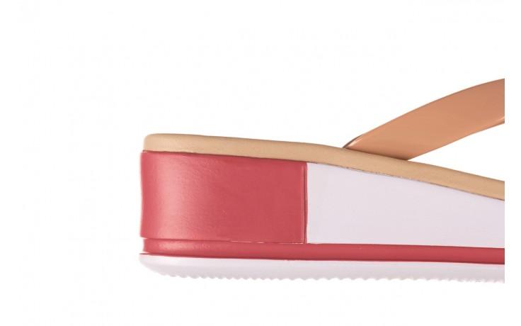 Klapki azaleia 281 517 nude multi, beż, guma - japonki - klapki - buty damskie - kobieta 6