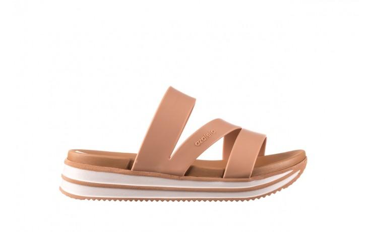 Klapki azaleia 260 496 nude, beż, guma  - klapki - buty damskie - kobieta