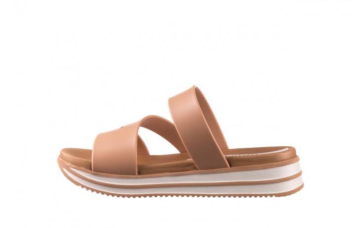 Klapki azaleia 260 496 nude, beż, guma  - klapki - buty damskie - kobieta 2