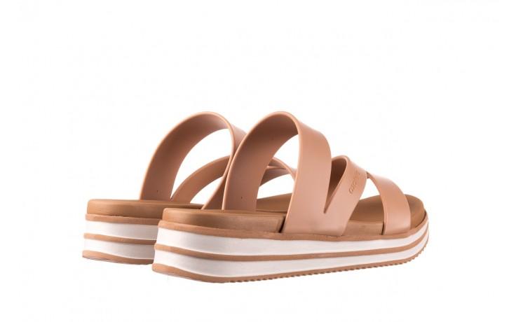 Klapki azaleia 260 496 nude, beż, guma  - klapki - buty damskie - kobieta 3