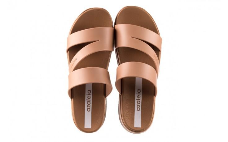 Klapki azaleia 260 496 nude, beż, guma  - klapki - buty damskie - kobieta 4