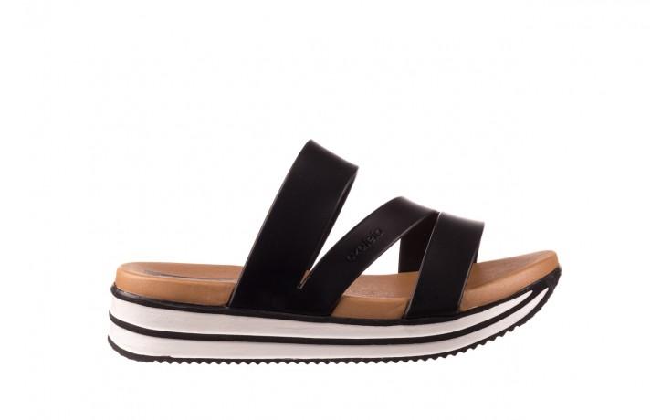 Klapki azaleia 260 496 black, czarny, guma - klapki - buty damskie - kobieta