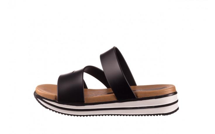 Klapki azaleia 260 496 black, czarny, guma - klapki - buty damskie - kobieta 2