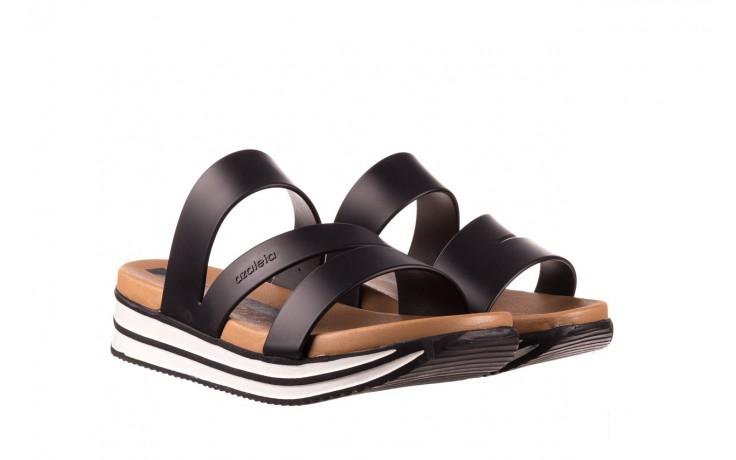 Klapki azaleia 260 496 black, czarny, guma - klapki - buty damskie - kobieta 1