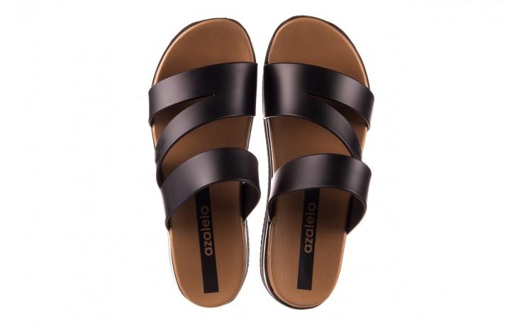 Klapki azaleia 260 496 black, czarny, guma - klapki - buty damskie - kobieta 4