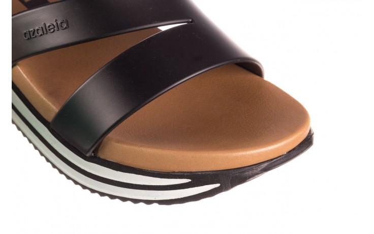 Klapki azaleia 260 496 black, czarny, guma - klapki - buty damskie - kobieta 5