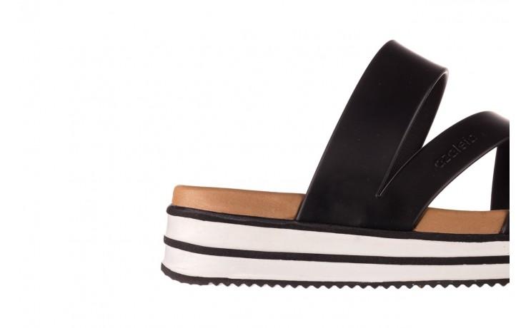 Klapki azaleia 260 496 black, czarny, guma - klapki - buty damskie - kobieta 6