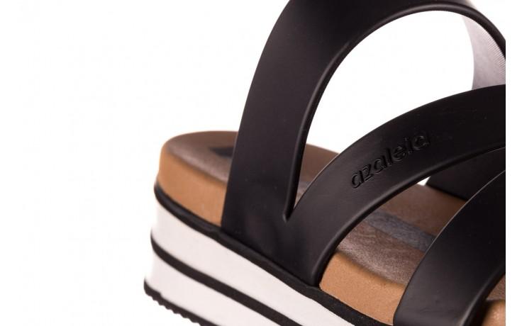 Klapki azaleia 260 496 black, czarny, guma - klapki - buty damskie - kobieta 7