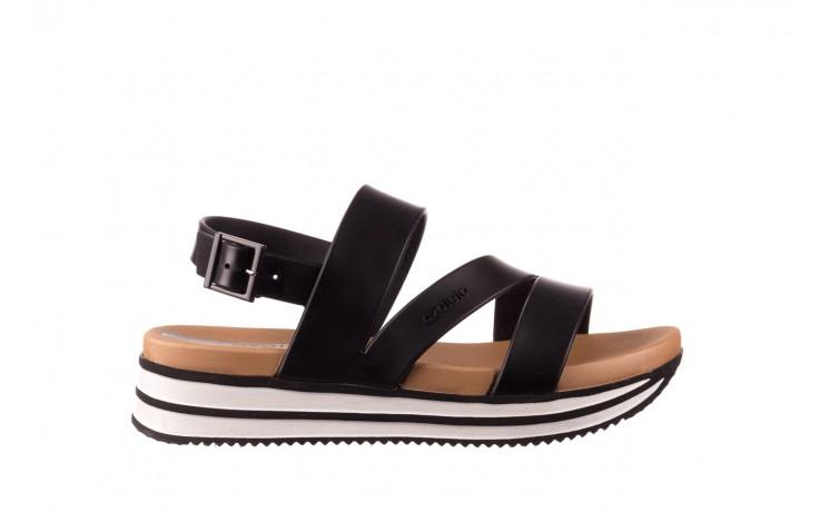Sandały azaleia 260 497 black, czarny, guma - gumowe - sandały - buty damskie - kobieta