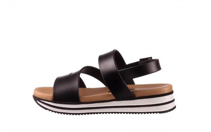 Sandały azaleia 260 497 black, czarny, guma - gumowe - sandały - buty damskie - kobieta 2