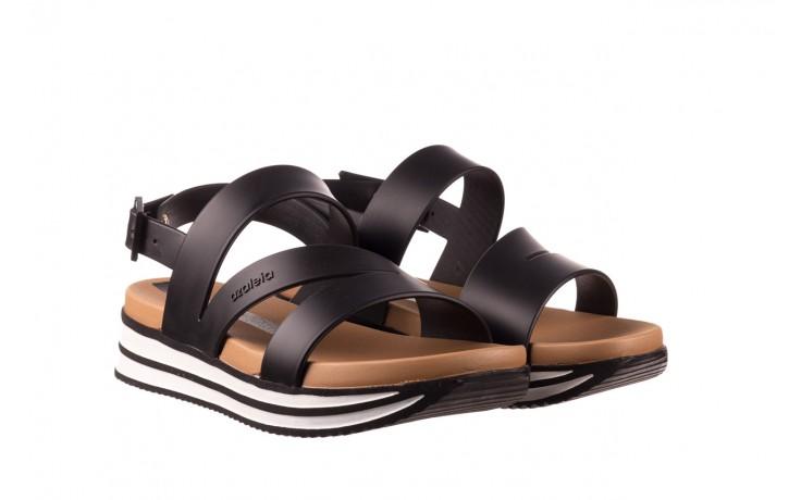 Sandały azaleia 260 497 black, czarny, guma - gumowe - sandały - buty damskie - kobieta 1