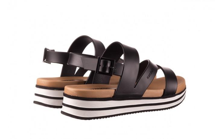 Sandały azaleia 260 497 black, czarny, guma - gumowe - sandały - buty damskie - kobieta 3