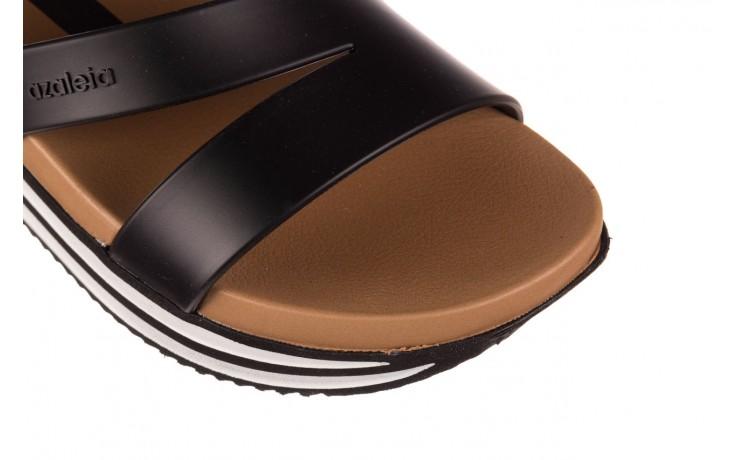 Sandały azaleia 260 497 black, czarny, guma - gumowe - sandały - buty damskie - kobieta 5