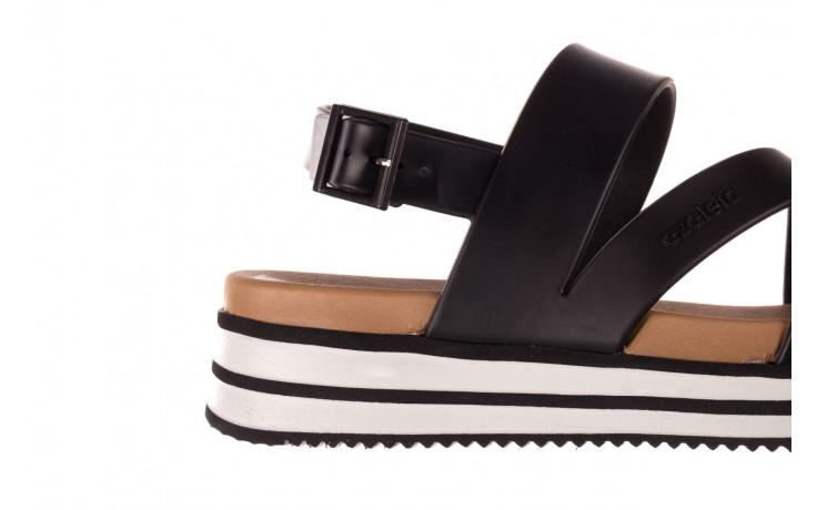 Sandały azaleia 260 497 black, czarny, guma - gumowe - sandały - buty damskie - kobieta 6
