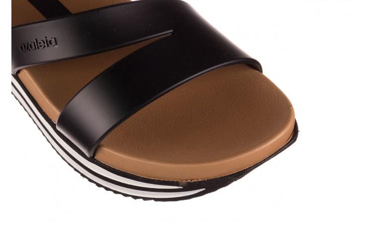 Sandały azaleia 260 497 black, czarny, guma - gumowe - sandały - buty damskie - kobieta 7