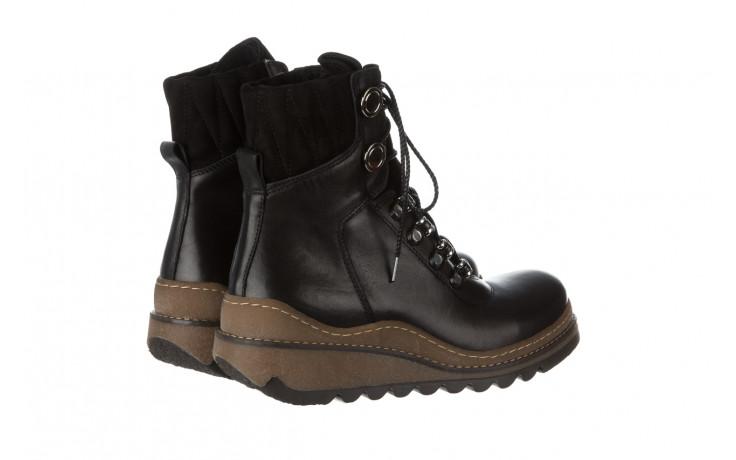 Trzewiki bayla 161 050 0401 9 01 28 black 161168, czarny, skóra naturalna  - trzewiki - buty damskie - kobieta 4