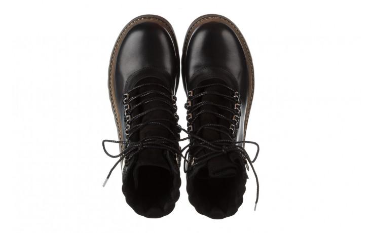 Trzewiki bayla 161 050 0401 9 01 28 black 161168, czarny, skóra naturalna  - trzewiki - buty damskie - kobieta 5