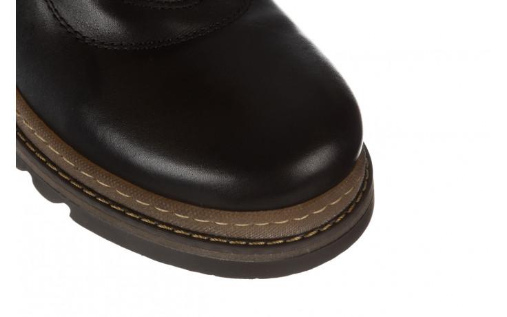 Trzewiki bayla 161 050 0401 9 01 28 black 161168, czarny, skóra naturalna  - trzewiki - buty damskie - kobieta 6
