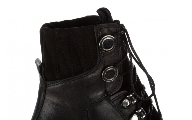 Trzewiki bayla 161 050 0401 9 01 28 black 161168, czarny, skóra naturalna  - trzewiki - buty damskie - kobieta 8