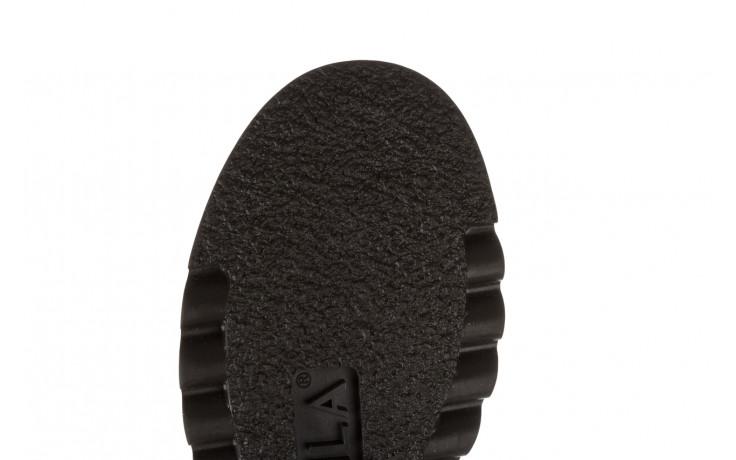 Trzewiki bayla 161 050 0401 9 01 28 black 161168, czarny, skóra naturalna  - trzewiki - buty damskie - kobieta 10
