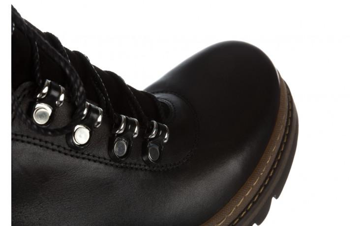 Trzewiki bayla 161 050 0401 9 01 28 black 161168, czarny, skóra naturalna  - trzewiki - buty damskie - kobieta 11
