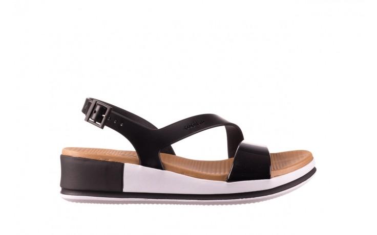 Sandały azaleia 281 584 black, czarny, guma - sandały - dla niej  - sale