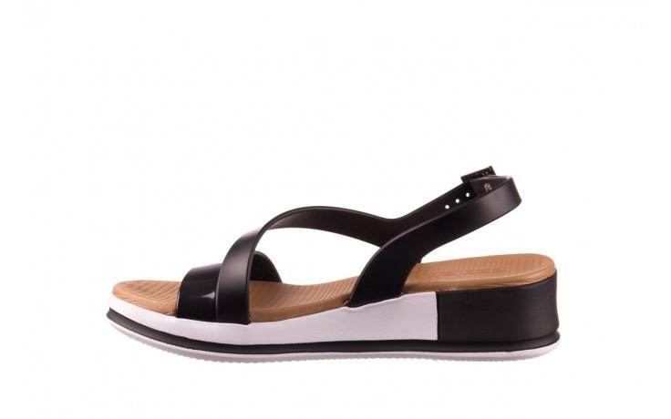 Sandały azaleia 281 584 black, czarny, guma - sandały - dla niej  - sale 2