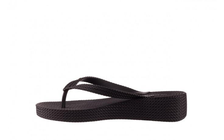 Klapki azaleia 296 505 black, czarny, guma - gumowe/plastikowe - klapki - buty damskie - kobieta 2
