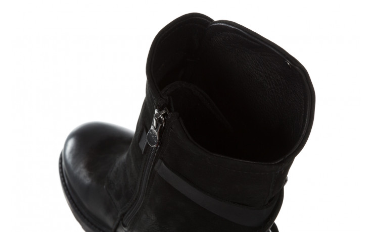 Trzewiki bayla 161 050 2330 010 black nubuck 161173, czarny, skóra naturalna  - trendy - kobieta 8